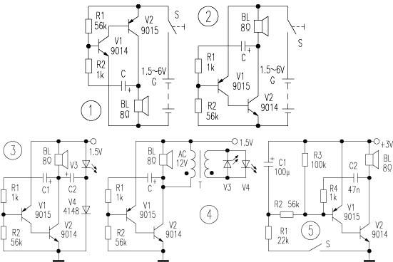 图4的电路中